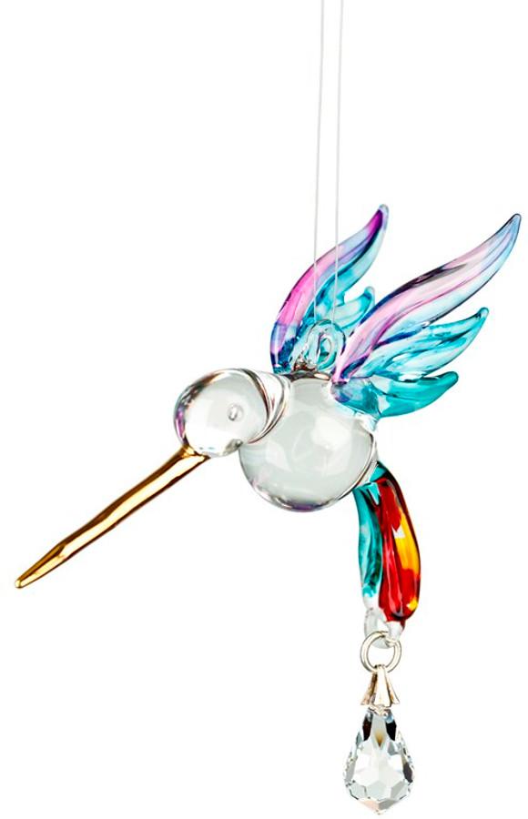 Fantasy Glass Hummingbird Rainbow Maker