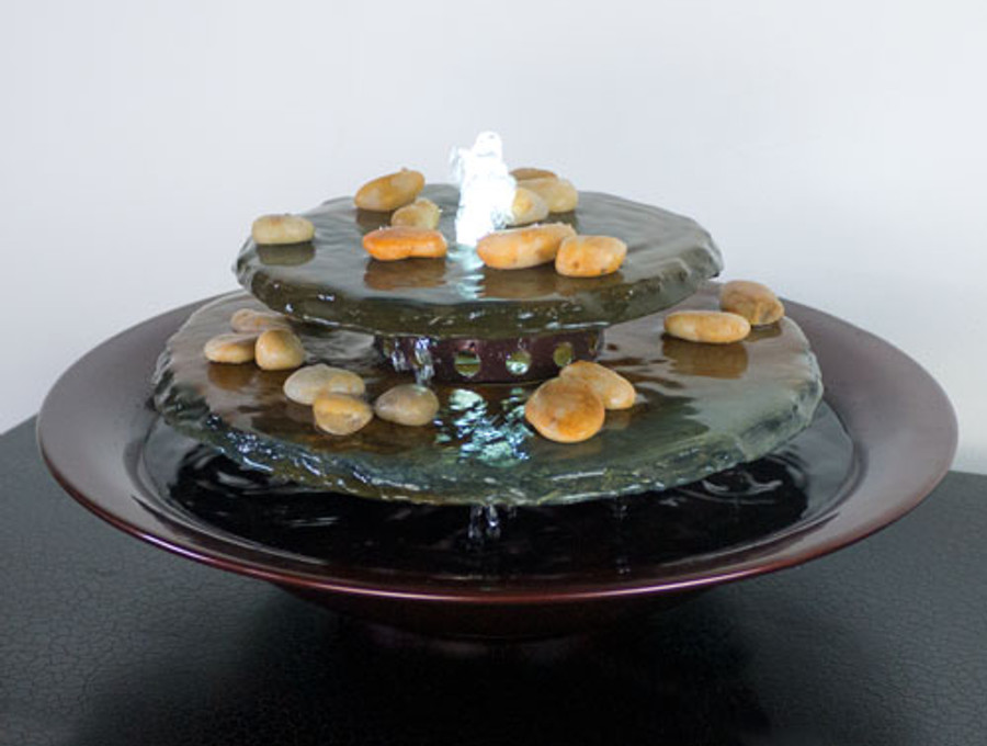 Water Wonders Tranquility Pool Tabletop Fountain