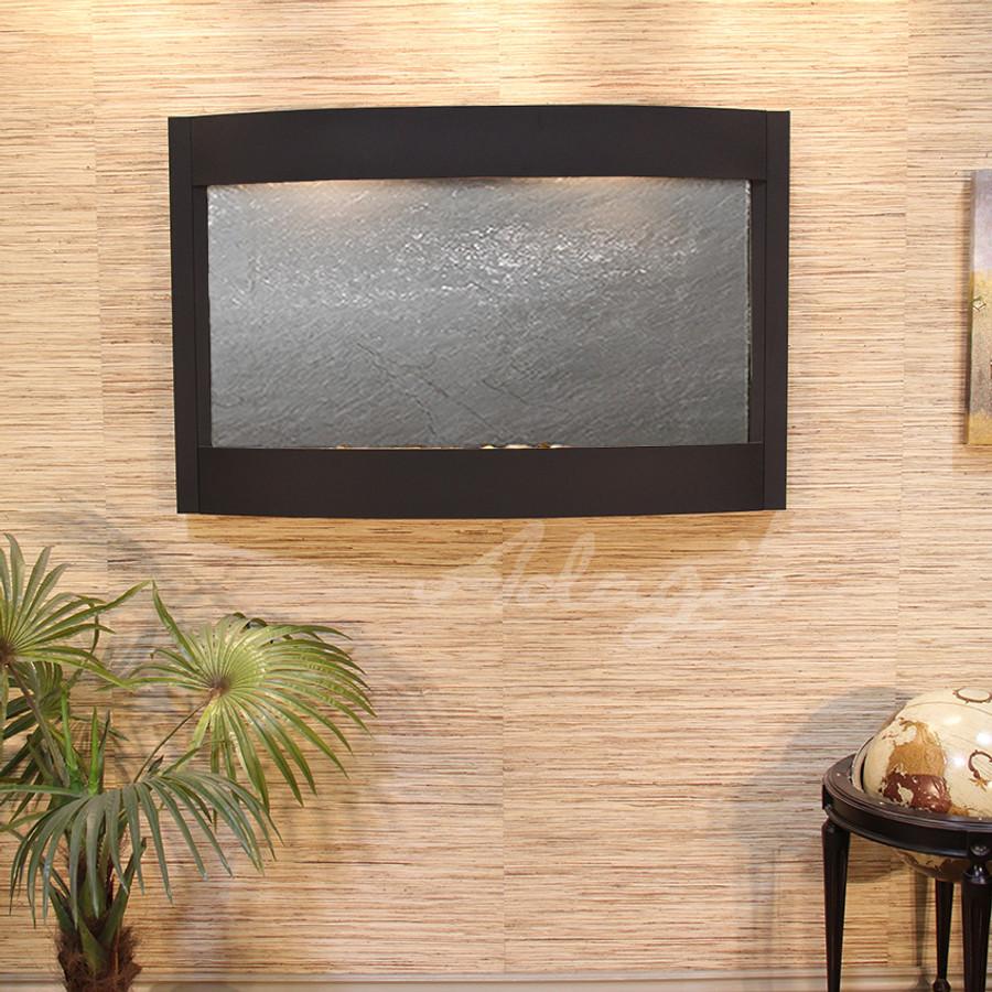 Textured Black & Black Featherstone