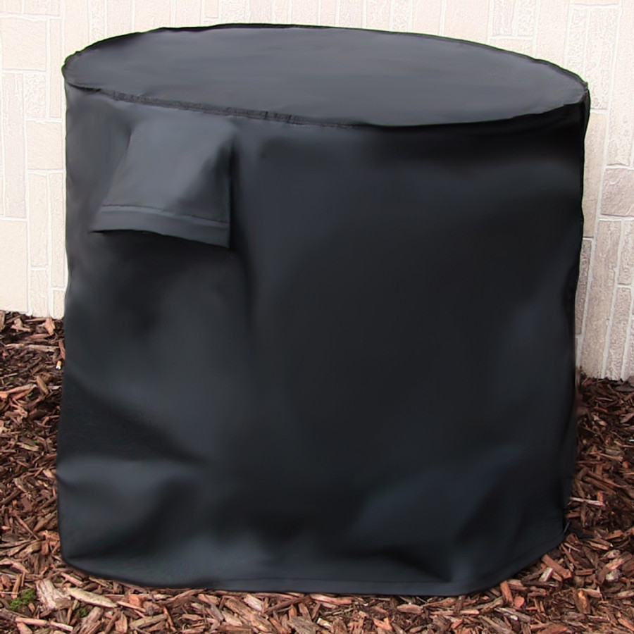 Sunnydaze Heavy Duty Round Air Conditioner Cover Gift