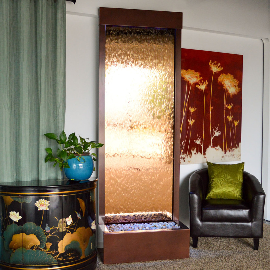 Bluworld Gardenfall Waterfall w/ Bronze Mirror