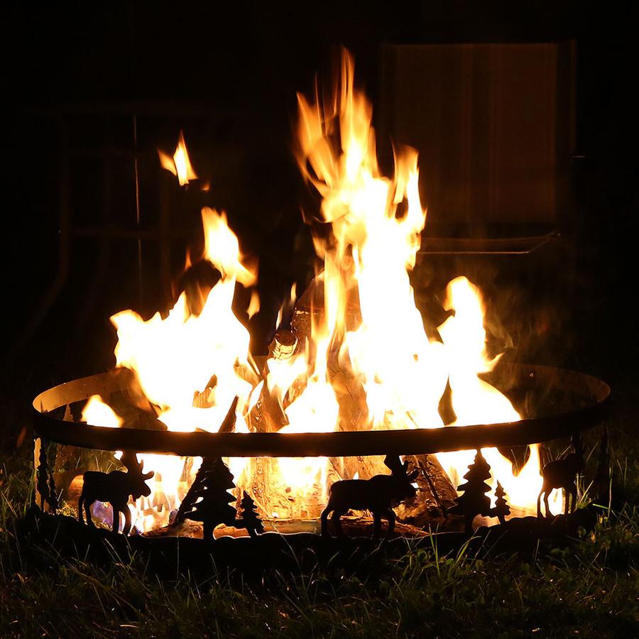 Wild Moose Campfire Ring