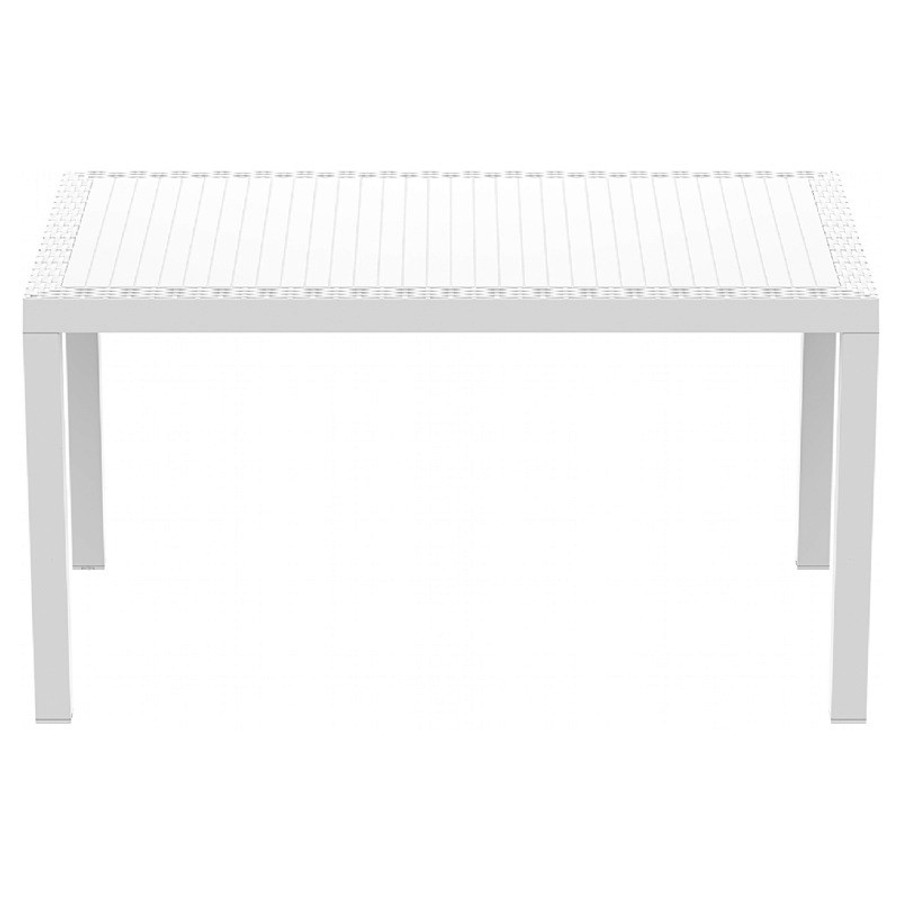Orlando Resin Wickerlook Rectangle Dining Table