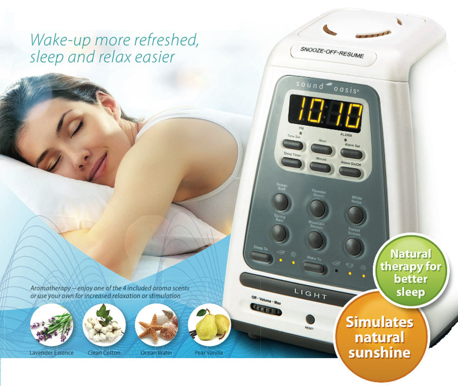 Natural Wake-Up and Sleep System by Sound Oasis