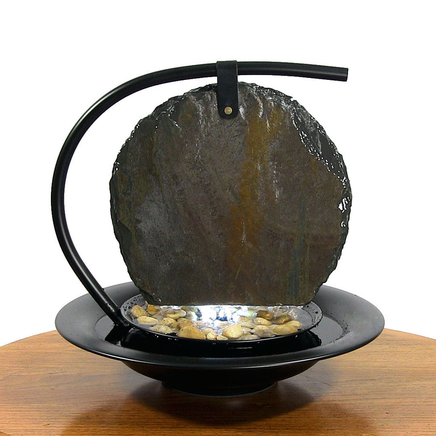 Bluworld Large Zen Moonshadow Tabletop Fountain
