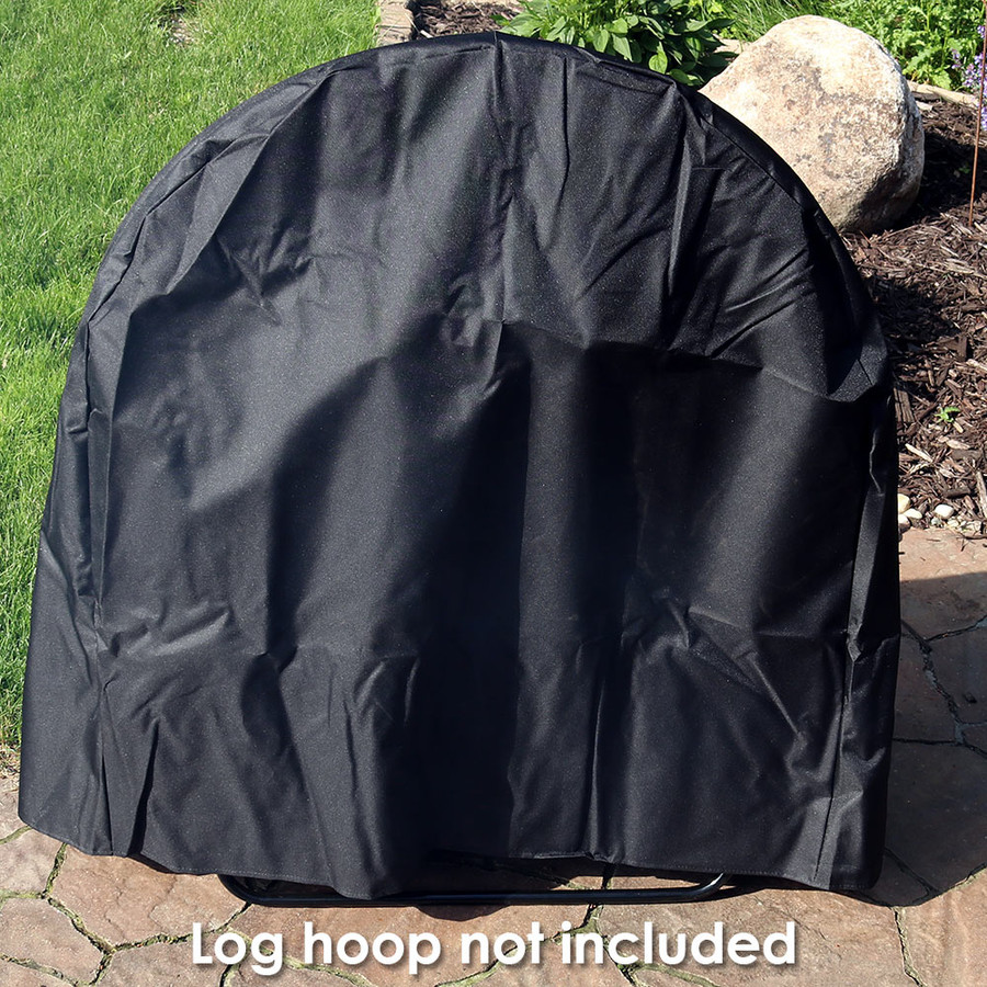 Sunnydaze Log Hoop Cover, Size and Color Options Available