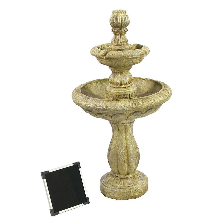 Solar-on-Demand Fountain