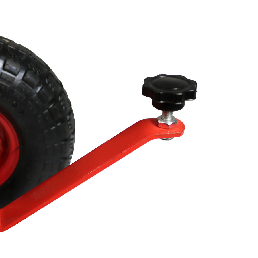 Red Steering Handlebar