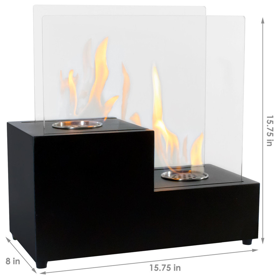 Dimensions of Passo Fireplace