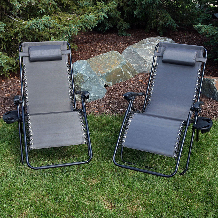 Charcoal Set of 2 Outdoors