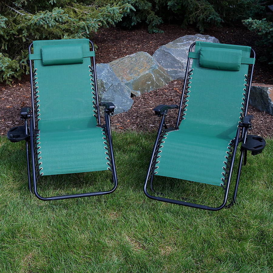 Forest Green Set of 2 Outdoors