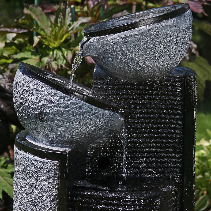 Close-up of Silver Bowls