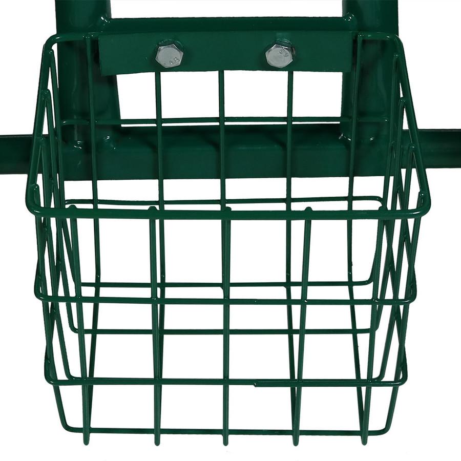 Green Wire Basket