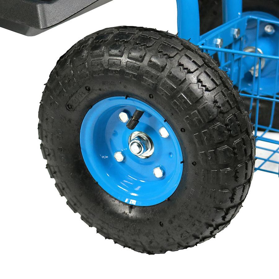 Blue Pneumatic Tire