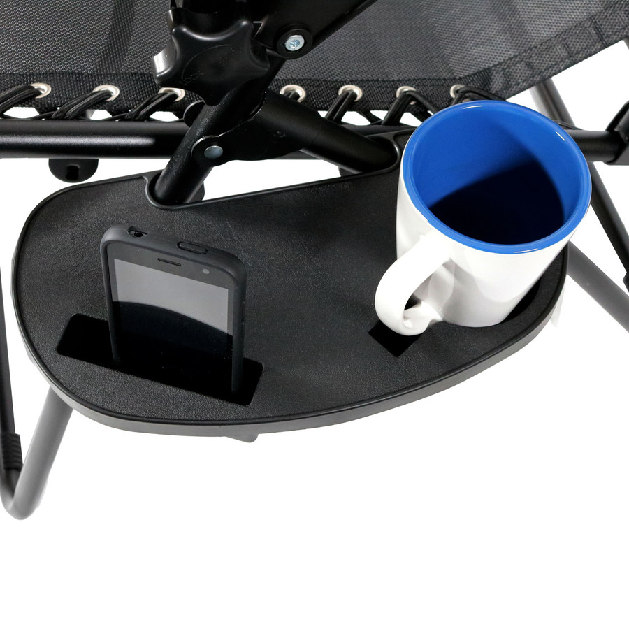 Drink Holder with Coffee Mug and Smart Phone