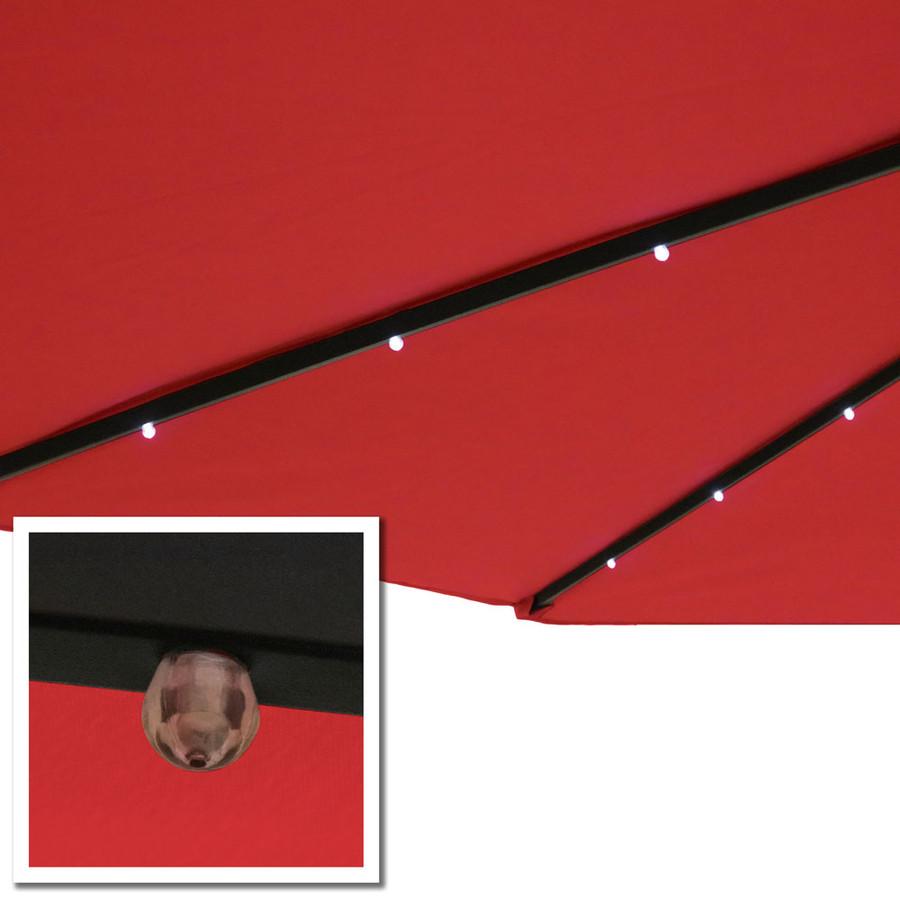 Red LED Light Close-Up