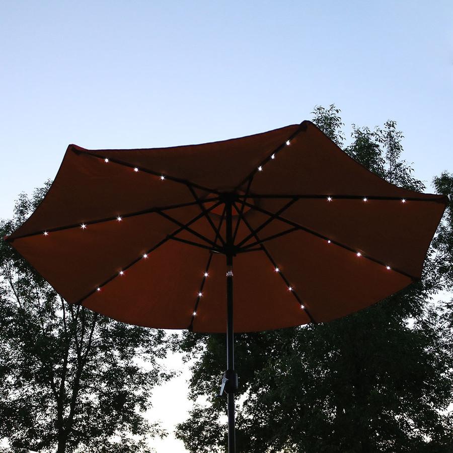 Evening View Burnt Orange