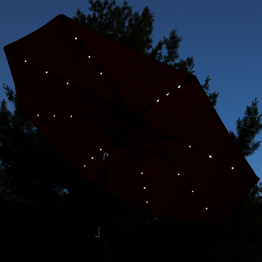 Red Tilted at Night