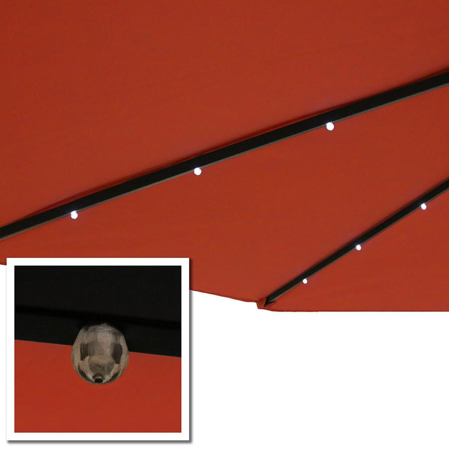 Burnt Orange LED Close-Up