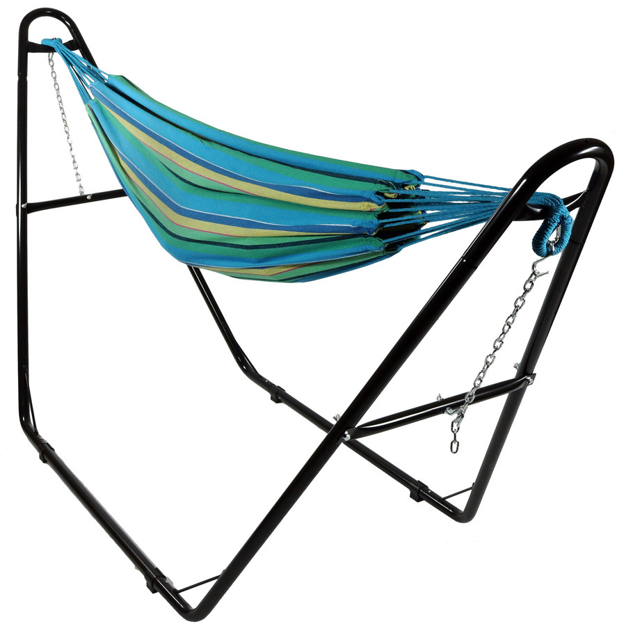 Sea Grass with Multi-Use Hammock Stand