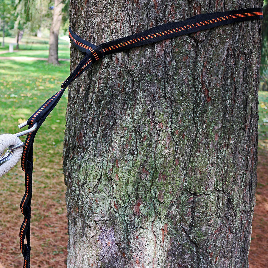 Sunnydaze Tree-Friendly Adjustable Hammock Hanging Straps