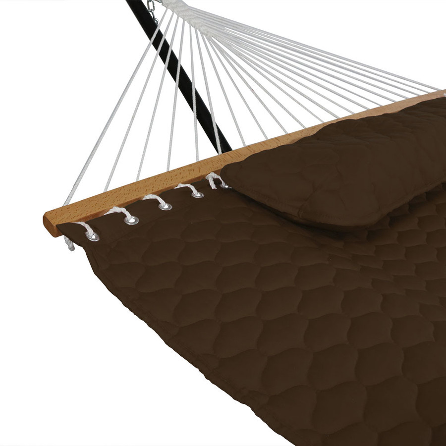 Brown Pillow and Spreader Bar