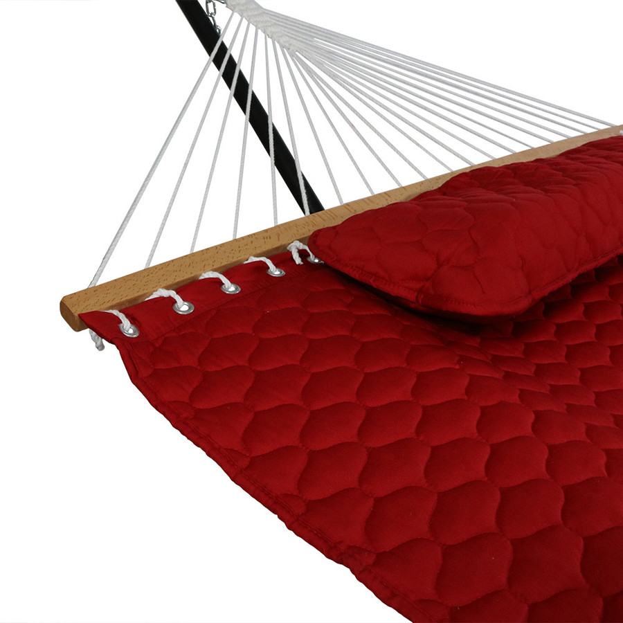 Red Pillow and Spreader Bar