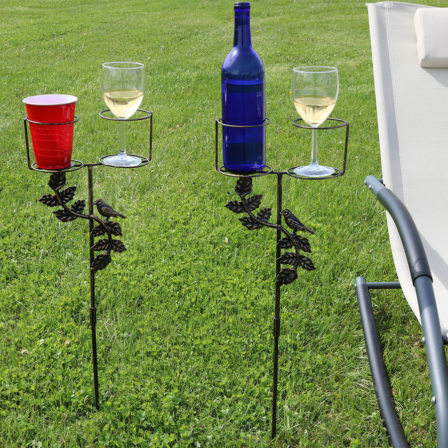 Dual Drink Holder Set of 2