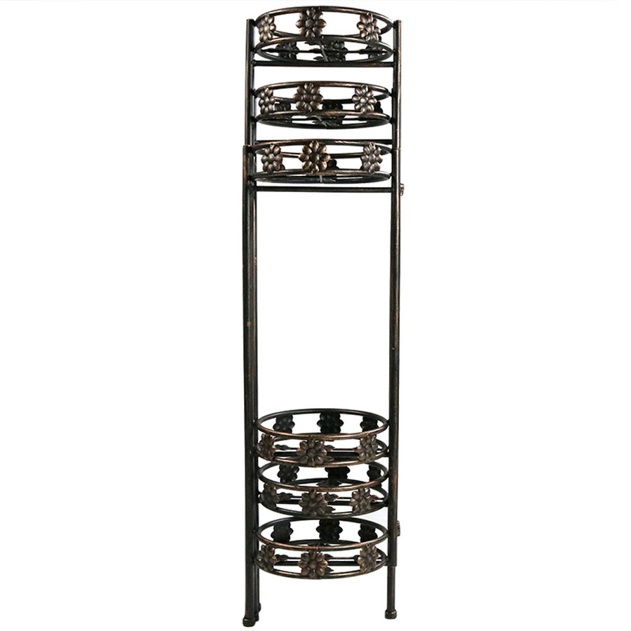 6-Tier Plant Stand Folded