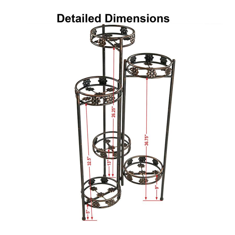 6-Tier Dimensions