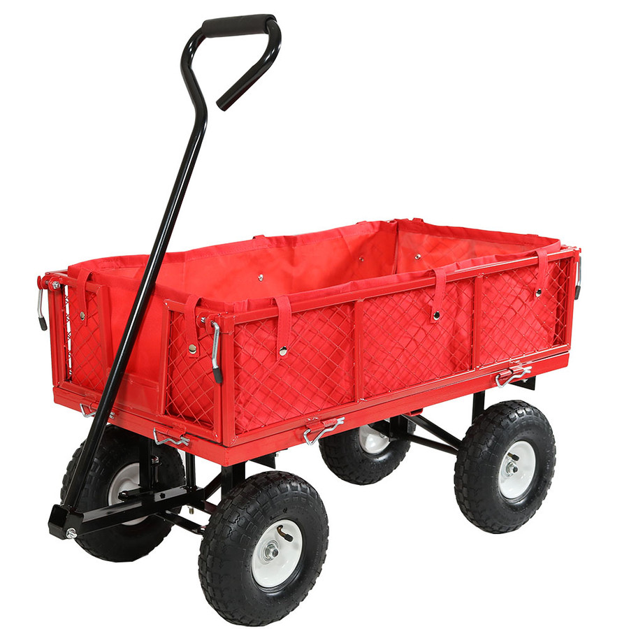 Red Cart with Liner