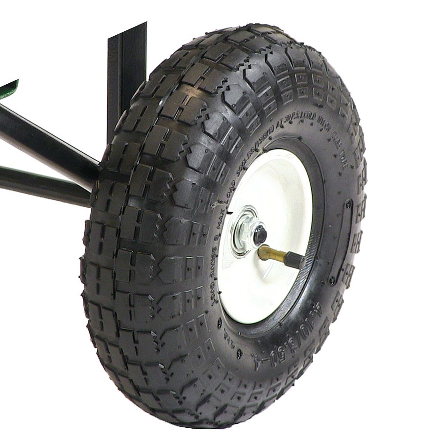 Closeup of Pneumatic Tire