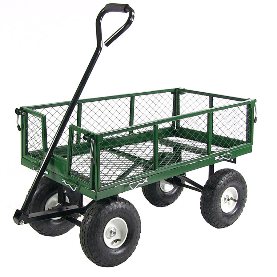 Green Cart without Liner Attached