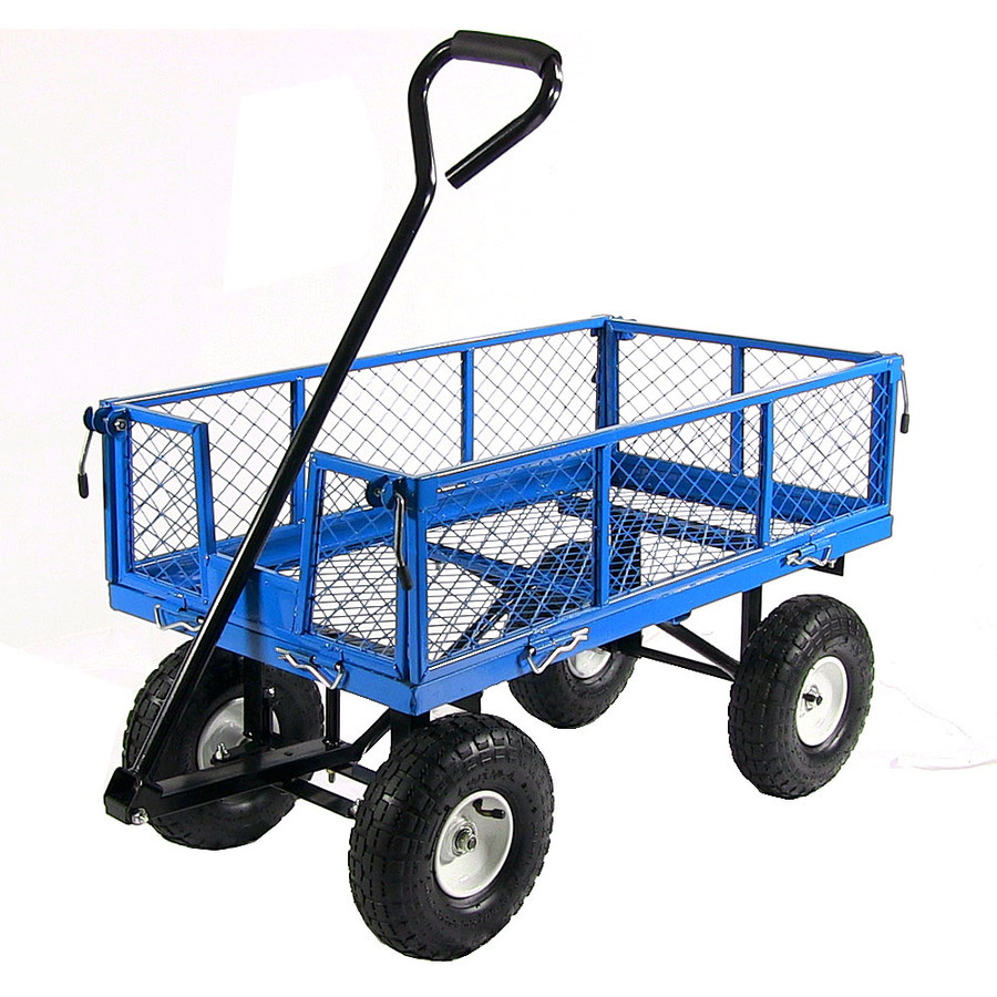 Blue Cart without Liner Attached