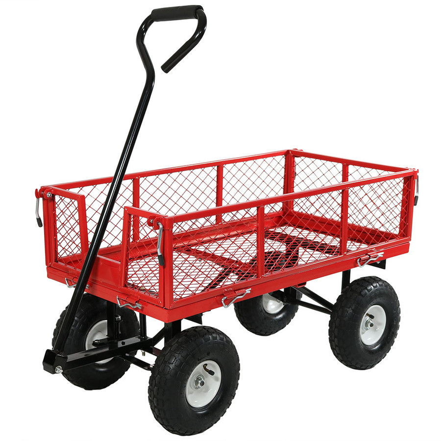 Red Cart without Liner Attached