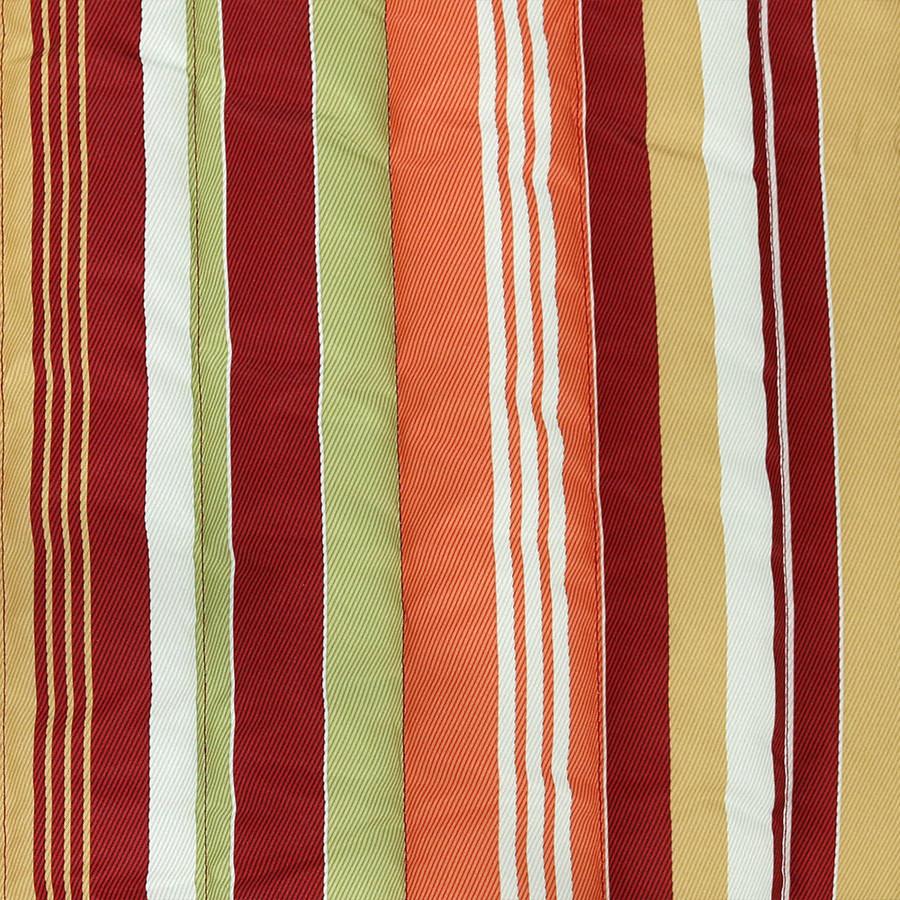 Tropical Orange Stripe Swatch