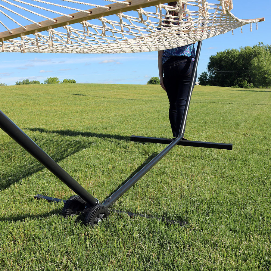 Sunnydaze Durable Hammock Stand Wheel Kit