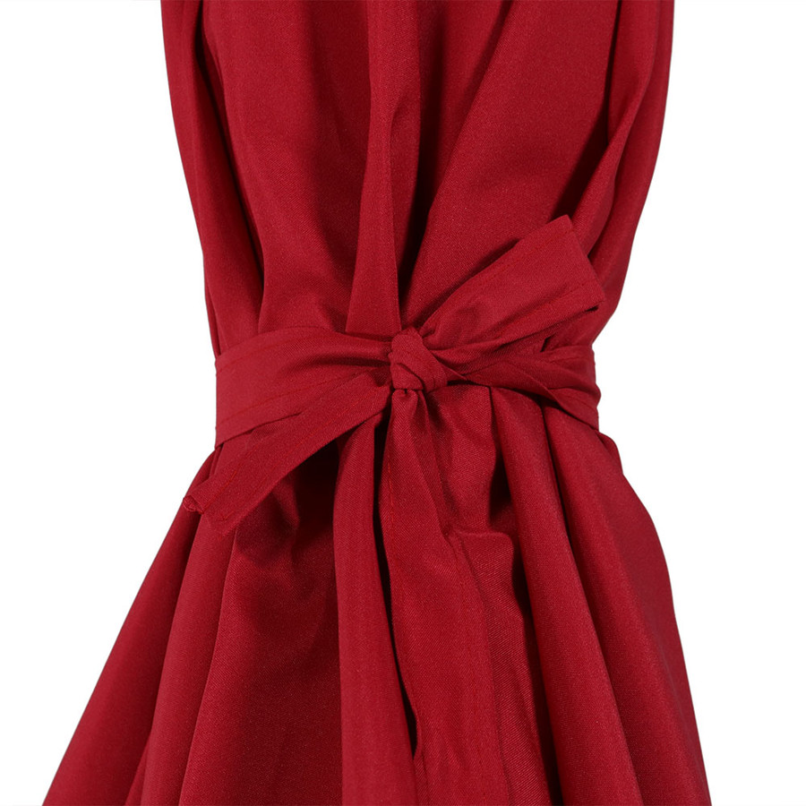 Red Tie Closeup