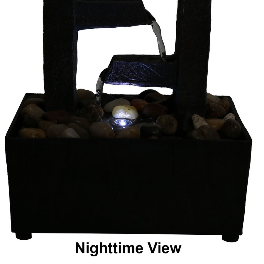 Bottom View - Nighttime