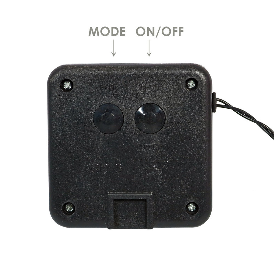Mode and ON/OFF Button for 200 LED Count