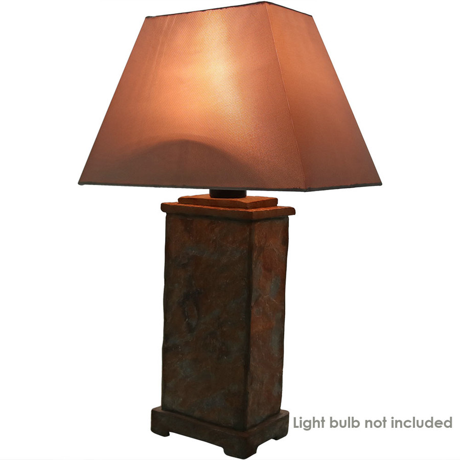 Lamp Turned On (Type A 100-Watt or Smaller Bulb Not Included)