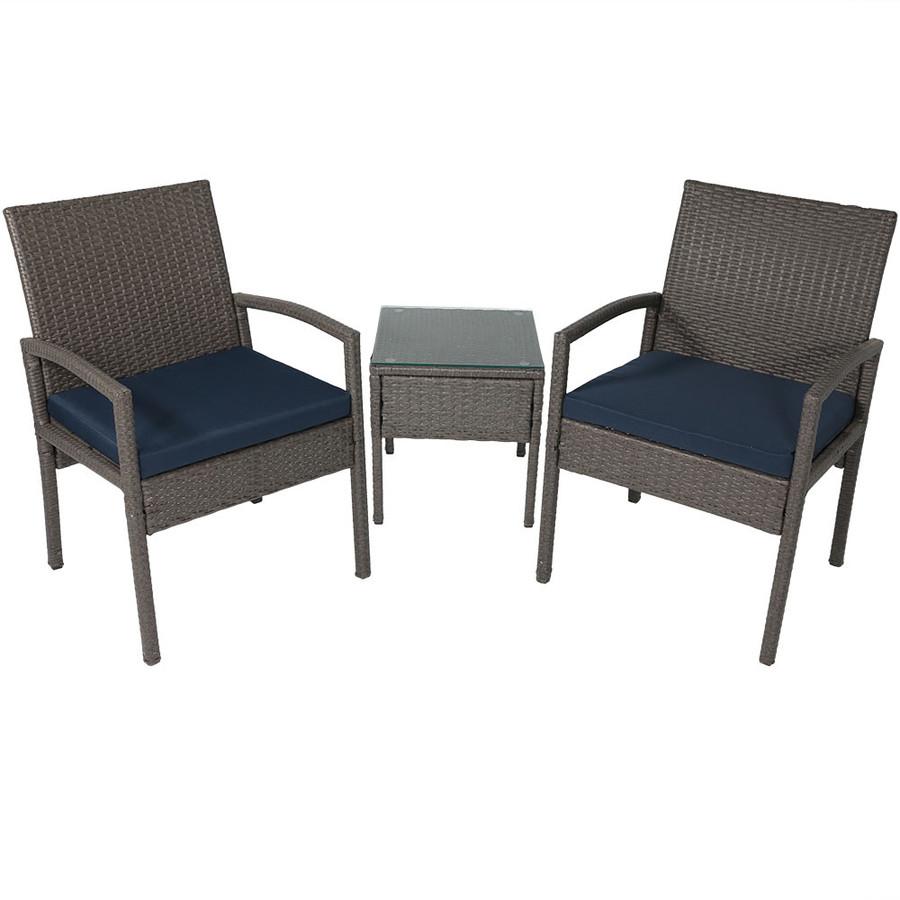 Bita 3-Piece Lounger Patio Furniture Set