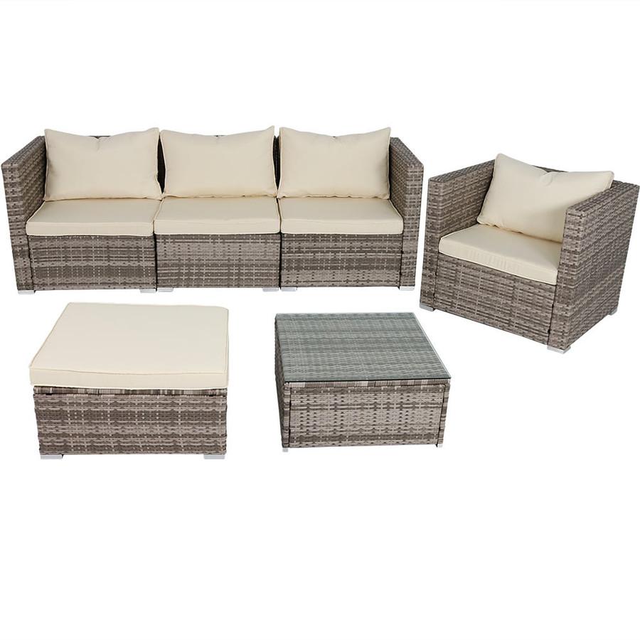 Boa Vista Wicker Rattan 6-Piece Sofa Patio Furniture Set -- Alternate Option