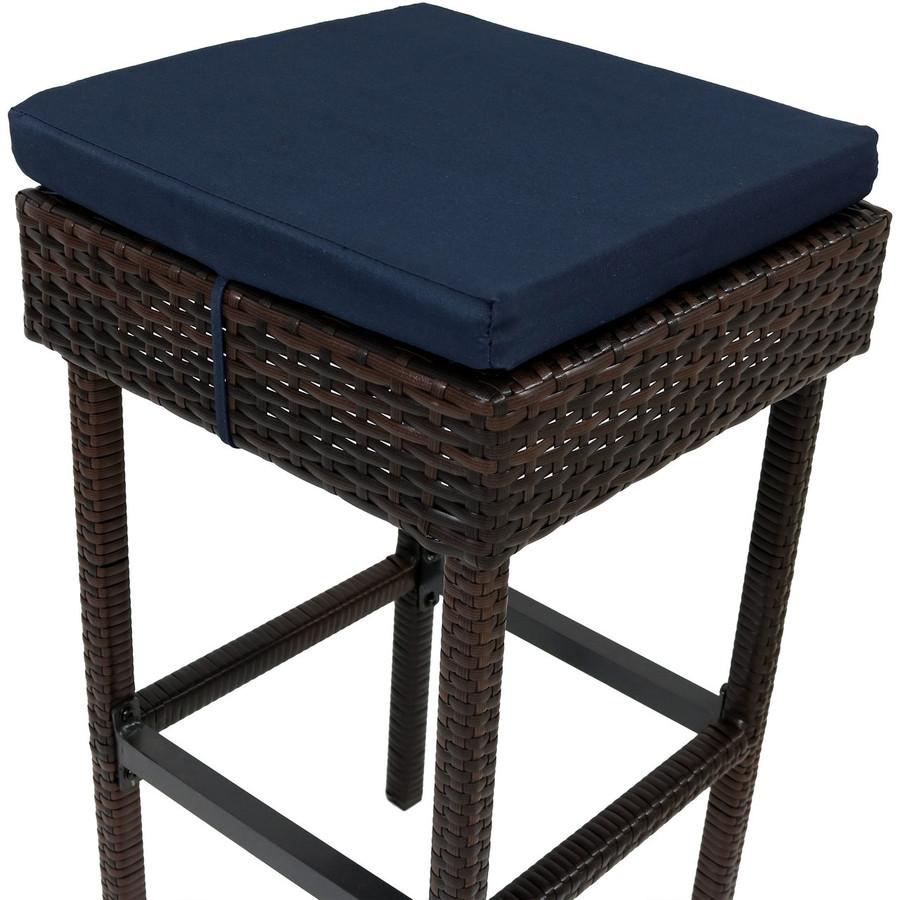Dark Blue Cushion