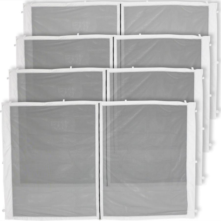 4-Panel-10 Foot Straight Leg Zippered Mesh Kit