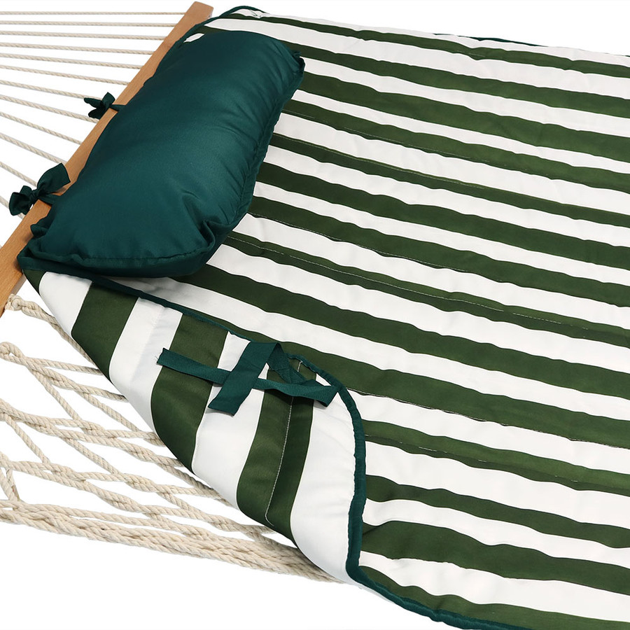 Green and White Stripe (Hammock NOT Included)