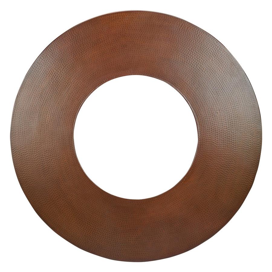 Hammered Copper Round Swatch