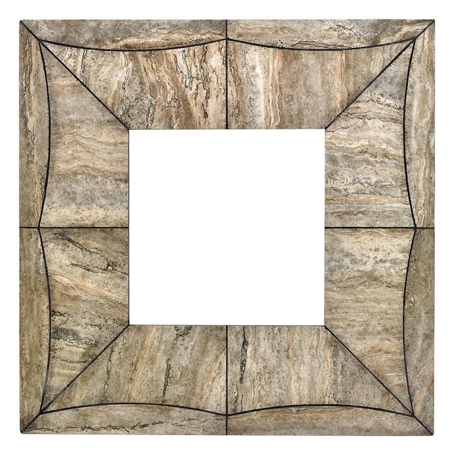 Gray Travertine Square Swatch