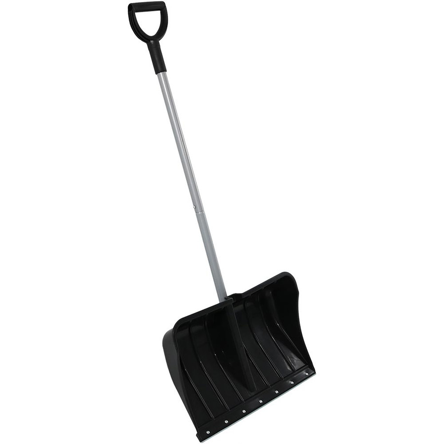 CASL Brands 22-Inch Snow Shovel with D-Grip Handle and Metal Wear Strip