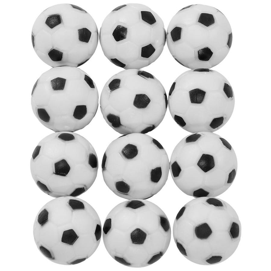 Sunnydaze 31mm Replacement Foosball Table Balls, Standard Size